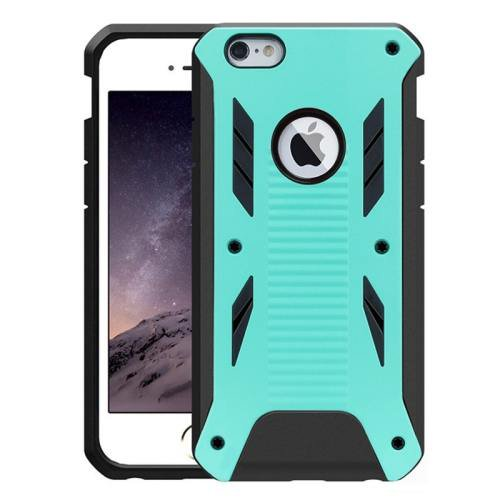 iPhone 6 Plus Green Caseology Shockproof Rugged Armor Plastic Back Cover & TPU Case