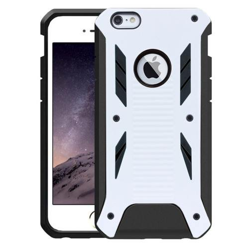iPhone 6 Plus White Caseology Shockproof Rugged Armor Plastic Back Cover & TPU Case