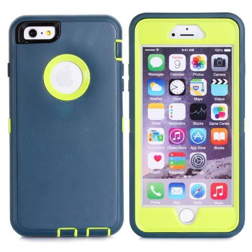 iPhone 6 Plus Olivine 3 in 1 Hybrid Silicon & Plastic Protective Case