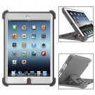 For iPad Mini 1/2/3 Grey Defender Series Protective Case with Stand