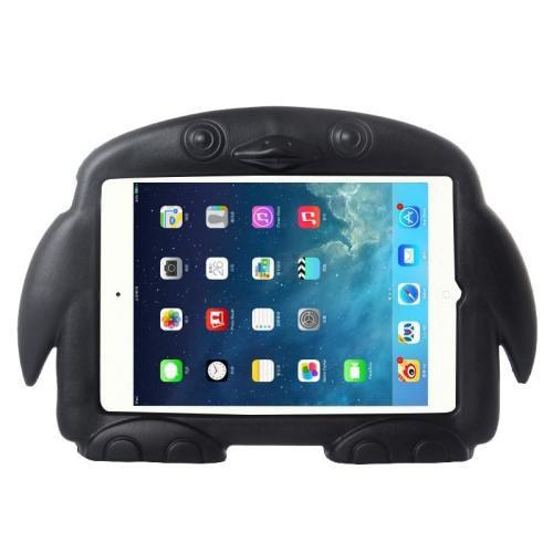 For iPad Mini 1/2/3 Black Penguin EVA Protective Case