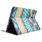 For iPad Air/iPad 5 Tribal Stripes Smart Cover Leather case with Holder, Card Slots & Wallet