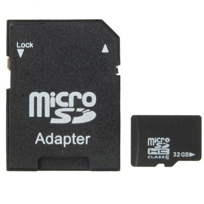 32GB High Speed Class 10 Micro SD(TF) Memory Card from Taiwan (100% Real Capacity)