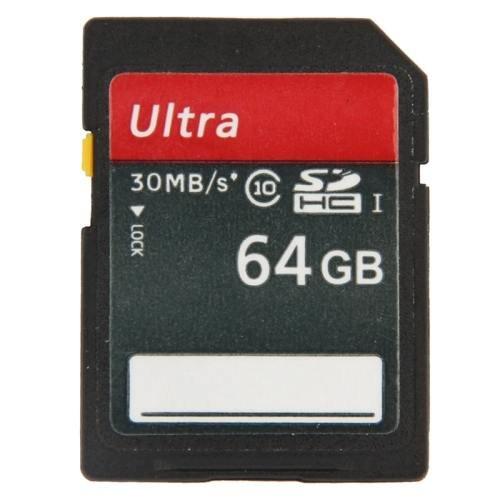64GB Ultra High Speed Class 10 SDHC Camera Memory Card (100% Real Capacity)