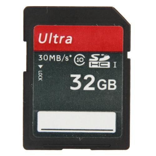 32GB Ultra High Speed Class 10 SDHC Camera Memory Card (100% Real Capacity)