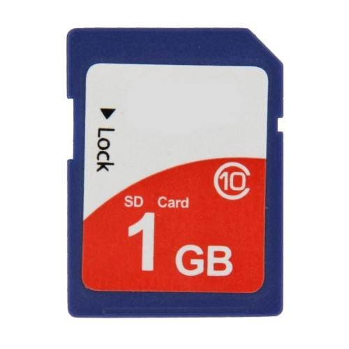 1GB High Speed Class 10 SDHC Camera Memory Card (100% Real Capacity)