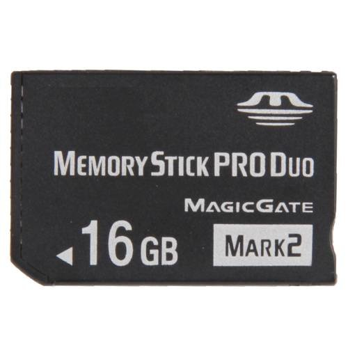 MARK2 16GB High Speed Memory Stick Pro Duo (100% Real Capacity)