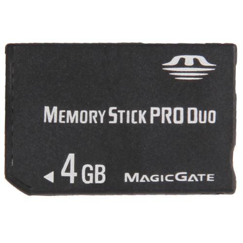4GB Memory Stick Pro Duo Card (100% Real Capacity)
