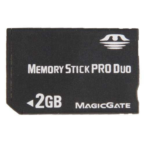 2GB Memory Stick Pro Duo Card (100% Real Capacity)