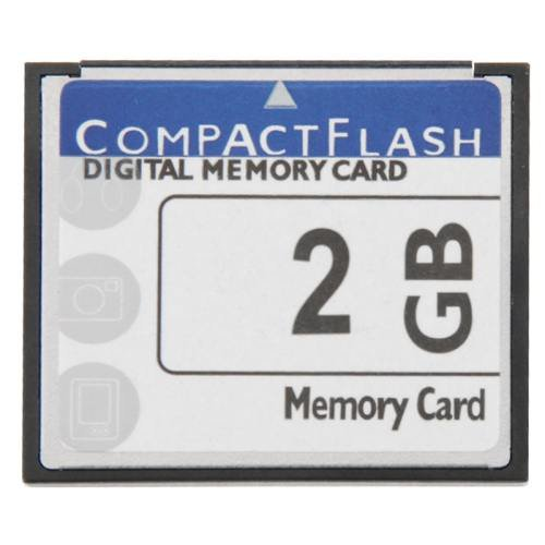 2GB Compact Flash Digital Memory Card (100% Real Capacity)