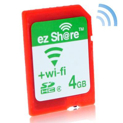 Wi-Fi SD Memory Card 4GB