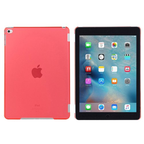 For iPad mini 4 Red PC Hard Protective Case