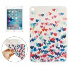 For iPad mini 4 Love Heart Pattern TPU Protective Case