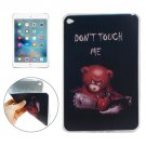 For iPad mini 4 DONT TOUCH ME Pattern TPU Protective Case