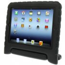 For iPad 4/3/2 Black EVA Material Drop Resistance Protective Case with Holder