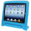 For iPad 4/3/2 Blue EVA Material Drop Resistance Protective Case with Holder