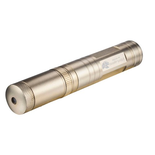 1mw 532nm Green Beam Flashlight IP � 6 Laser Pointer with 1 � Stars head - Gold