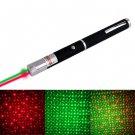 4mw 532nm + 650nm Green + Red 3 Mode Beam Gypsophila Pattern Laser Pointer Kit