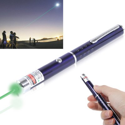 4mw 532nm Green Beam Laser Pointer - Dark Blue