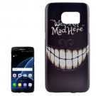 For Galaxy S7 Edge Teeth Pattern PC Protective Case