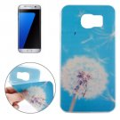 For Galaxy S7 Edge Ultrathin Dandelion Pattern Soft TPU Protective Cover Case