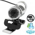 5.0 Mega Pixels 10X Digital Zoom USB 2.0 Driverless PC Camera / Webcam with Clip