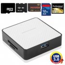 Super Speed USB 3.0 Card Reader, Compatible with SD / Micro SD / CF / XD / MS / M2 Card
