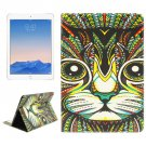 For iPad Air 2/iPad 6 Cat Pattern Leather Case with Holder & Card Slots & Wallet