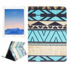 For iPad Air 2/iPad 6 Aztec Pattern Leather Case with Holder & Card Slots & Wallet