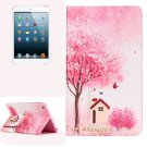 For iPad Mini 1/2/3 Cottage Pattern Horizontal Flip Leather Case with Holder