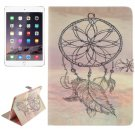 For iPad Air 2/iPad 6 Windbell Pattern Leather Case with Holder, Card Slots & Wallet
