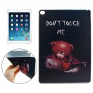 For iPad Air 2 DONT TOUCH ME Pattern TPU Protective Case