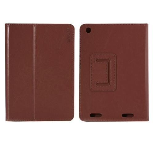 For Acer Iconia A1-830 Brown ENKAY Crazy Horse Leather Case with Holder