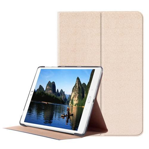 For ASUS Zenpad Gold Smart Cover Stone Leather Case with 3 fold Holder