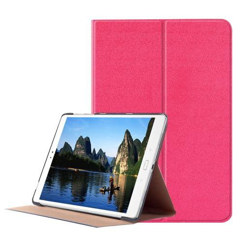 For ASUS Zenpad Magenta Smart Cover Stone Leather Case with 3 fold Holder