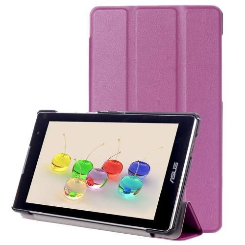 For ASUS Zenpad C 7.0 Purple Custer Flip Leather Case with 3 Fold Holder