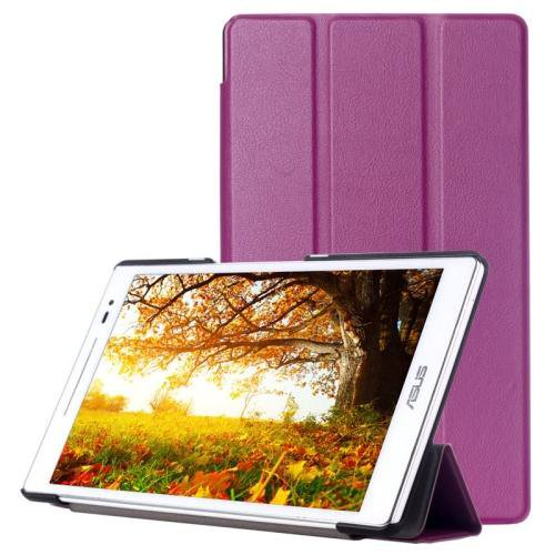 For ASUS Zenpad 8.0 Purple Custer Flip Leather Case with 3 Fold Holder