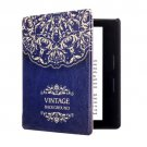 For Amazon Kindle Oasis Flower Pattern Horizontal Flip Leather Case