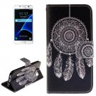 For Galaxy S7 Dreamcatcher Pattern Leather Case with Holder, Card Slots & Wallet