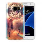 For Galaxy S7 IMD Dreamcatcher Pattern Blu-ray Soft TPU Protective Case