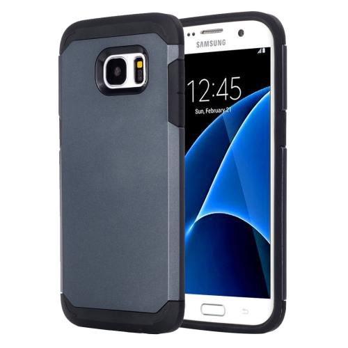 For Galaxy S7 Dark Blue TPU + PC Armor Combination Case