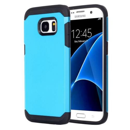 For Galaxy S7 Blue TPU + PC Armor Combination Case