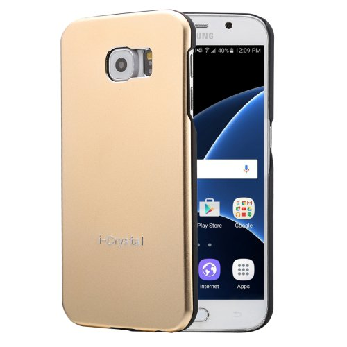 For Galaxy S7 Gold Heat Radiation Design Armor Metal + PC Protective Case