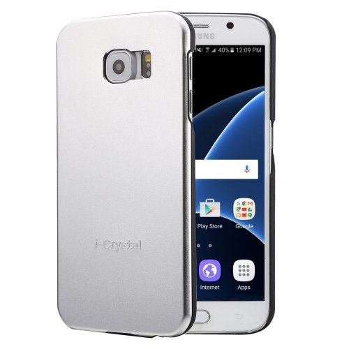 For Galaxy S7 Silver Heat Radiation Design Armor Metal + PC Protective Case