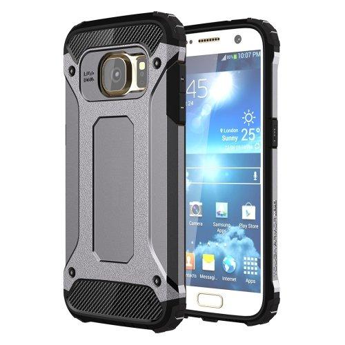 For Galaxy S7 Grey Tough Armor TPU + PC Combination Case
