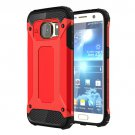 For Galaxy S7 Red Tough Armor TPU + PC Combination Case