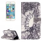 For iPhone 7 Tree of Life Leather Case with Holder & Card Slots & Wallet