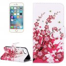 For iPhone 7 Blossom Pattern Leather Case with Holder, Card Slots & Wallet