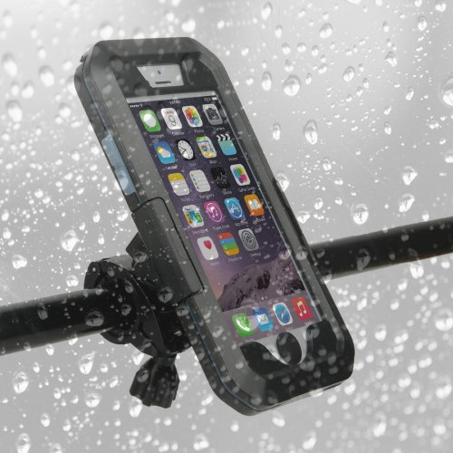 For iPhone 7 IPX8 Silicone + TPU Outdoor Waterproof Explosion-proof Case