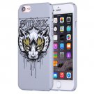 For iPhone 7 Water Decals Cartoon Animal Fox Pattern PC Protective Case